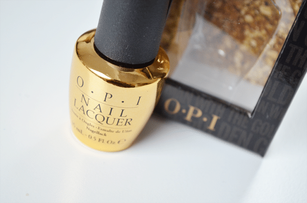 OPI The Man With The Golden Gun Topcoat