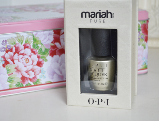OPI Mariah Carey PURE 18K White Gold Top Coat
