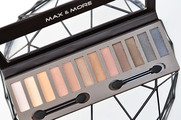 Max & More Eyeshadow Absolute Nudes