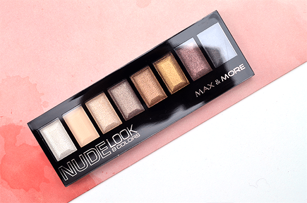 Max & More Nude Look Palette3