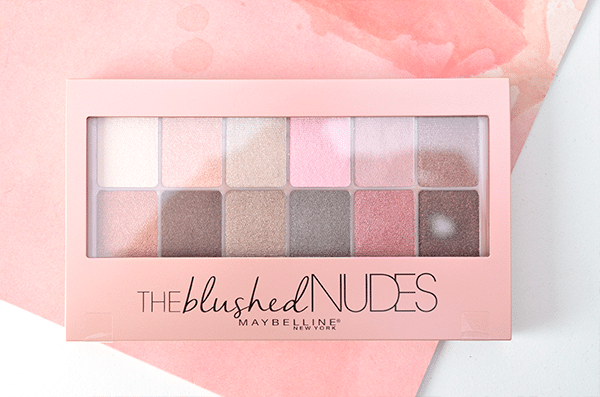 Maybelline The Blushed Nudes13