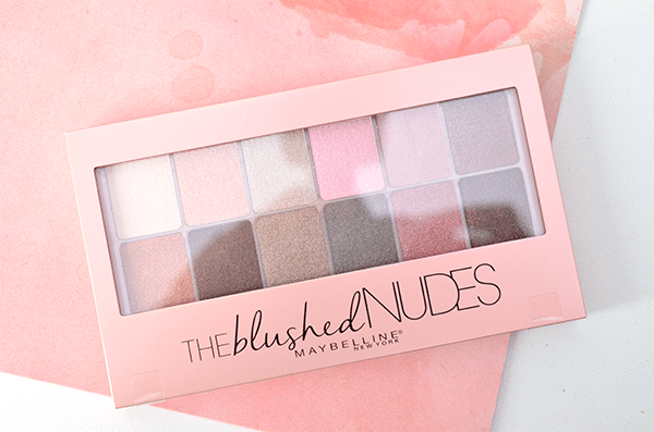 Maybelline The Blushed Nudes Palette