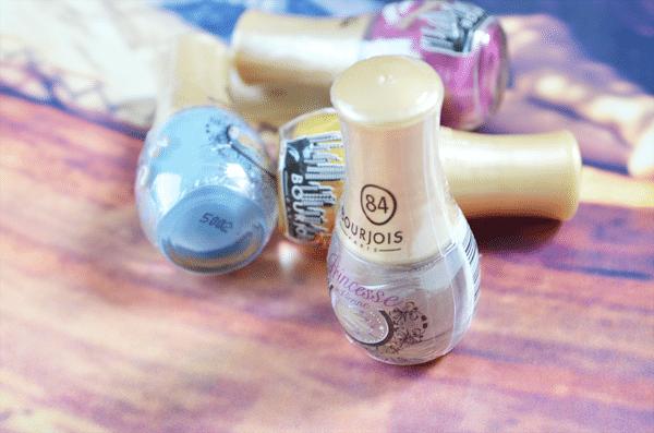 Bourjois mini nagellakjes