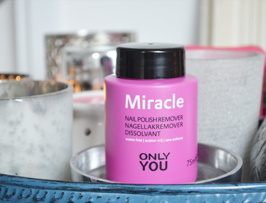 Only You Miracle Nail Polish Remover