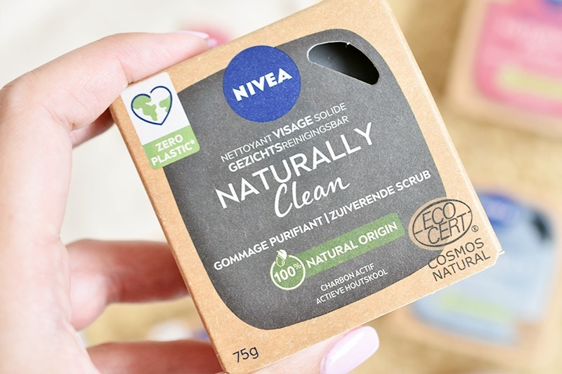 NIVEA Naturally Clean Gezichts Reinigingsbars7