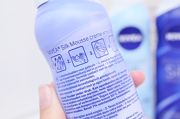 NIVEA Shower Slik Mousse