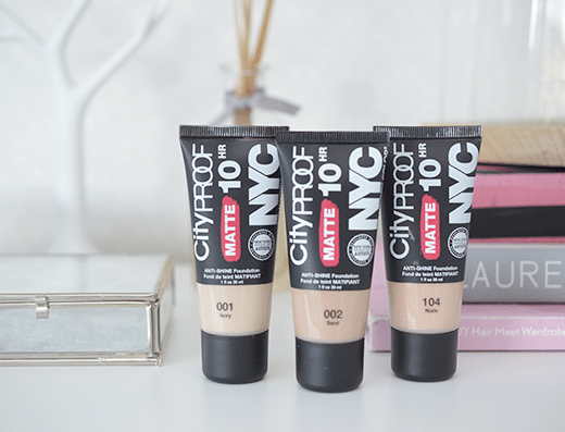 NYC Cityproof 10HR Matte Anti-Shine Foundation
