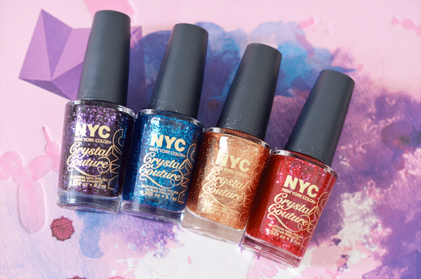 NYC Crystal Couture Nail Polish