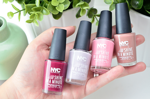 NYC Shine In A Minute Nagellak