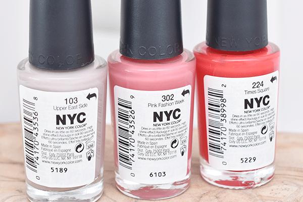 NYC Shine In A Minute Nail Polish