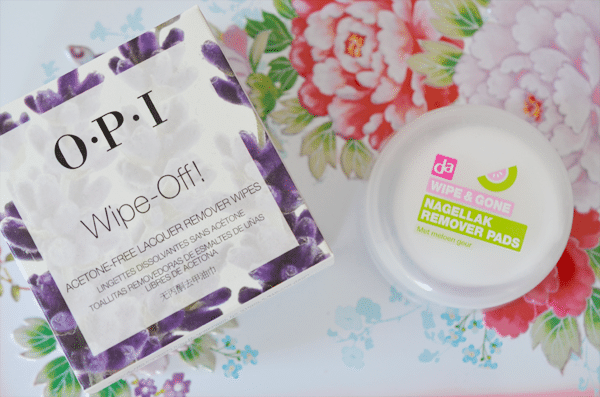 Battle: OPI Wipe-Off vs. DA Wipe & Gone
