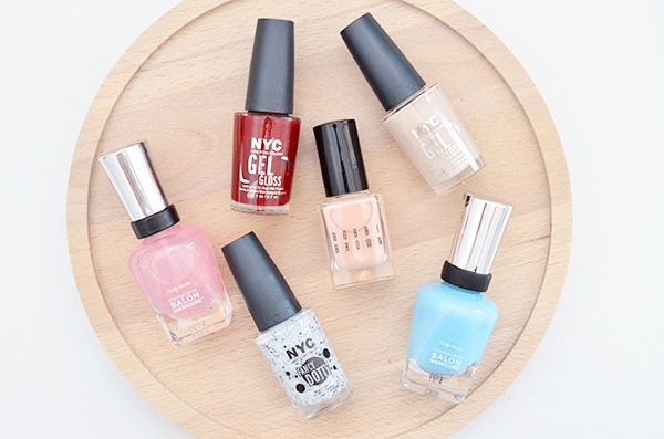 Nagellak in de mix: Bobbi Brown, NYC & Sally Hansen