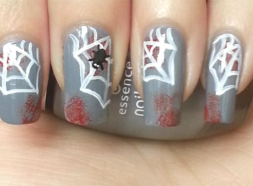 Spannende Halloween nail-art!