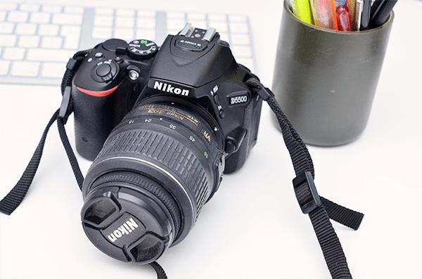 Nikon D5500 spiegelreflex camera