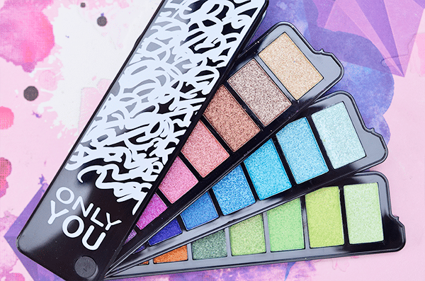 ONLY YOU Limited Edition Eyeshadow Palette11