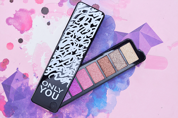 ONLY YOU Limited Edition Eyeshadow Palette