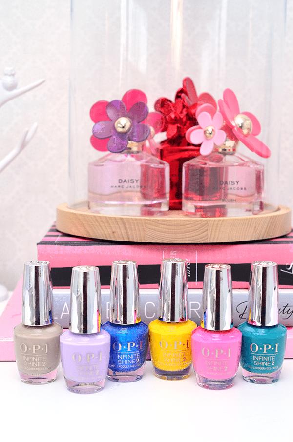 OPI Infinite Shine Fiji Collection