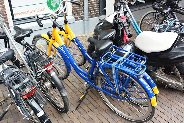 Pak eens een OV-fiets!