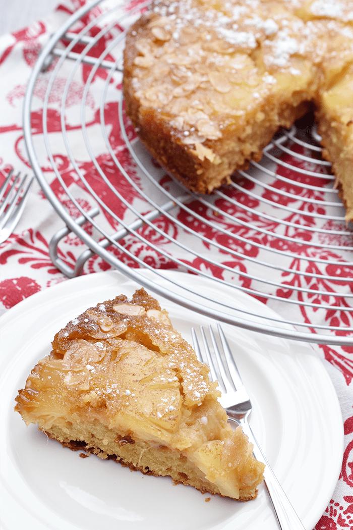Recept: Ondersteboven Ananas Cake