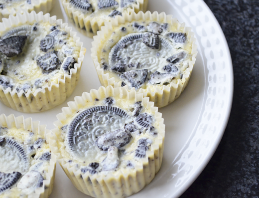 Recept: Mini Oreo Cheesecake