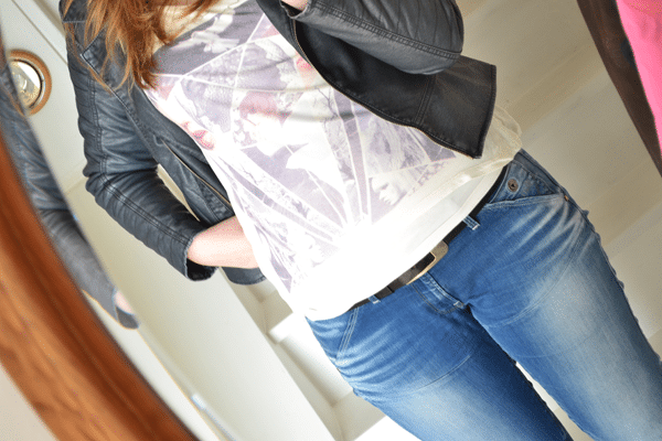 Outfit of the day: Stoere outfit met cropped shirt