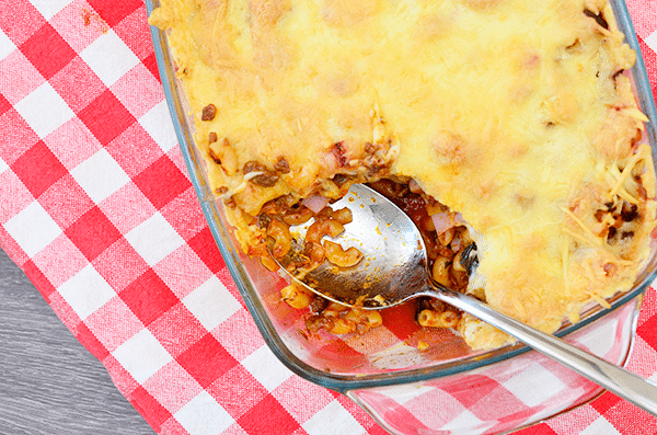Recept: Ovenschotel met (overgebleven) macaroni