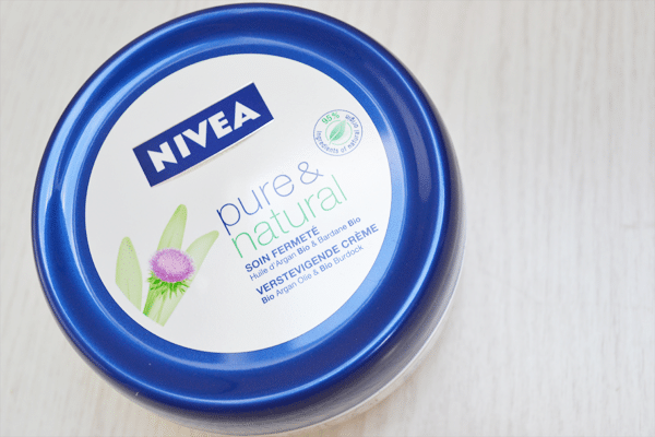 Nivea Pure & Natural Verstevigende Bodycrème