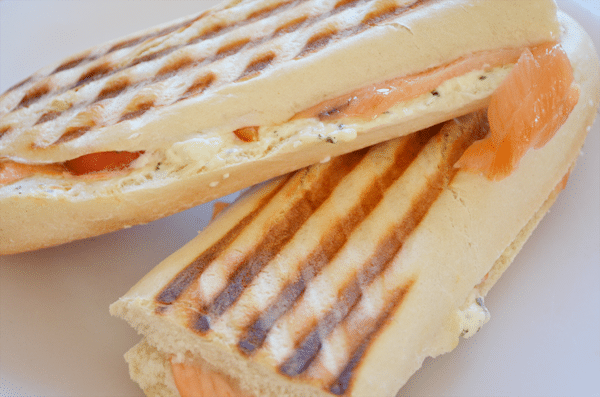 Recept: panini met zalm