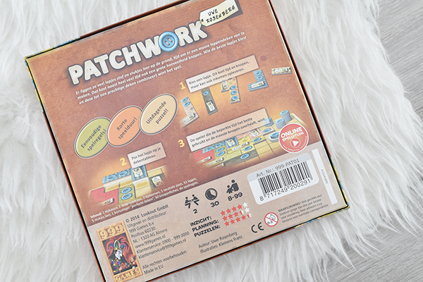 Let's Play: Patchwork