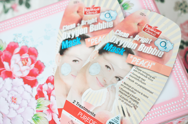 Botanical Choice Clean + Bright Oxygen Bubble Mask
