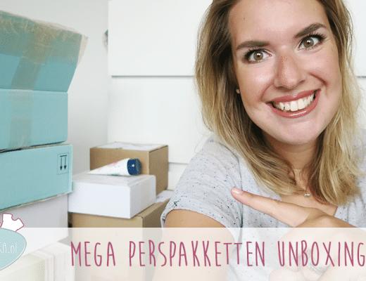 Mega Perspakketten Unboxing