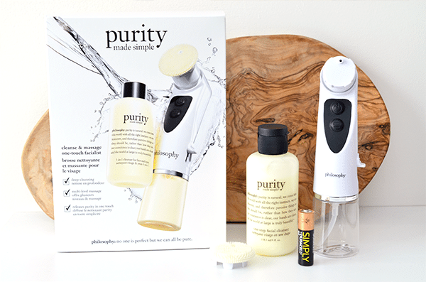 Philosophy purity made simple one-touch facialist