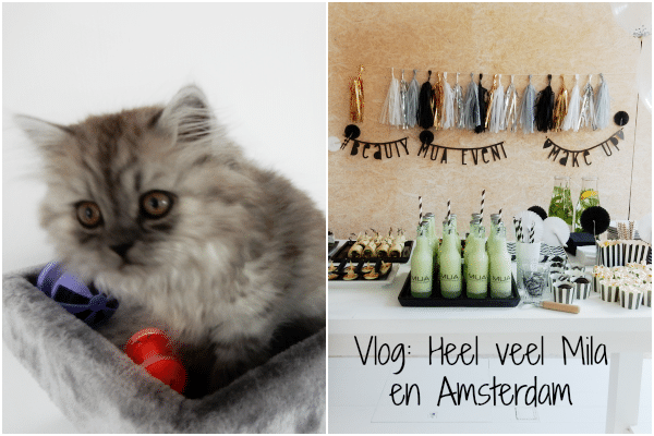 Vlog: Heel veel Mila en Amsterdam