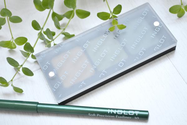 Groene ooglook met Inglot