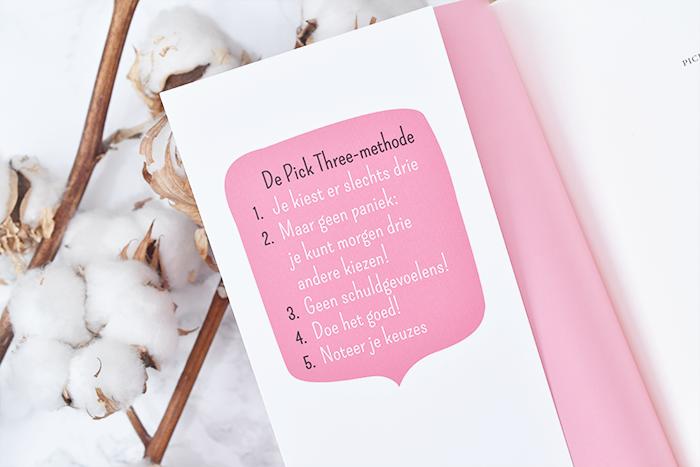 Pick Three – zo haal je het beste uit jezelf