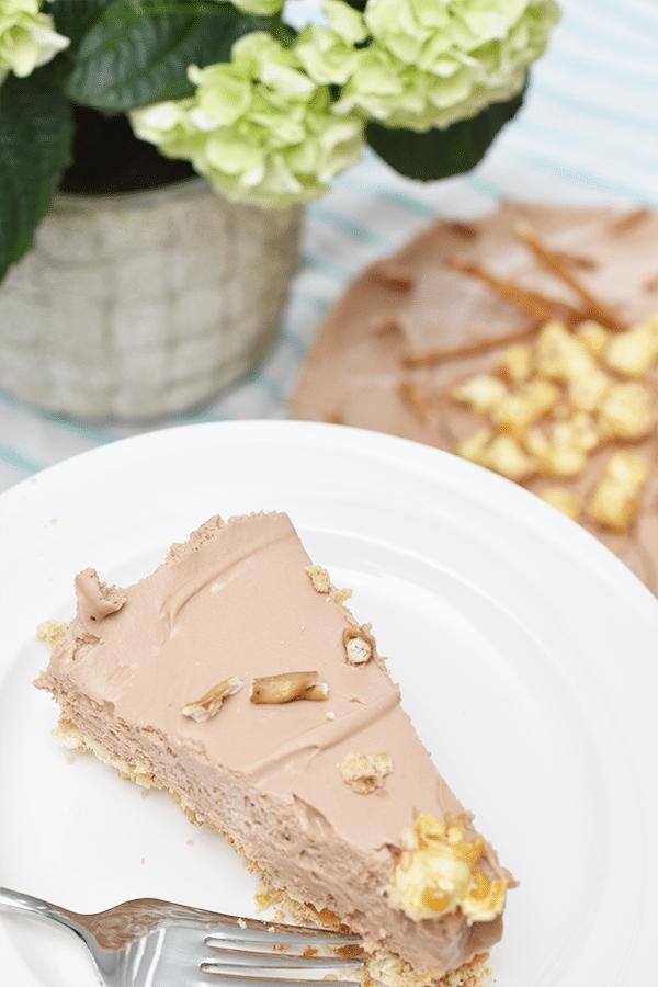 Recept: Monchoutaart met Karamel Zeezout Chocolade