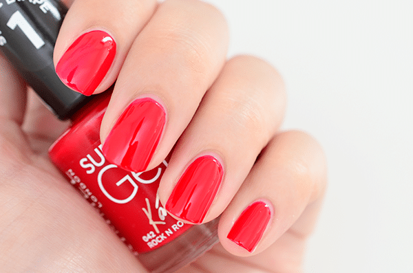 Rimmel Super Gel Nail Polish by Kate