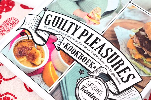 Lekkers op zondag: Guilty Pleasures Kookboek + win