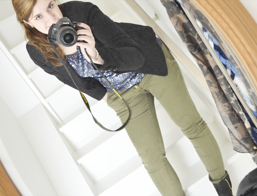 Outfit Of The Day + nieuwe laarsjes!