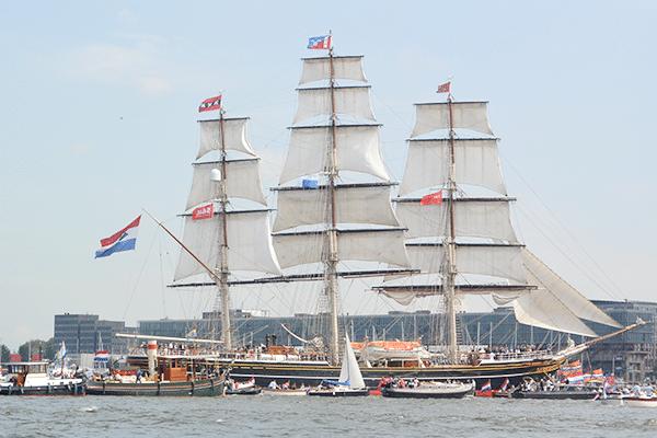 SAIL Amsterdam met Conimex
