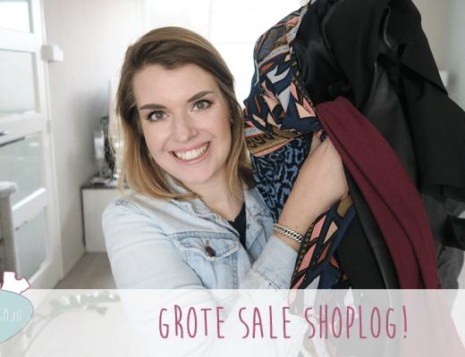 Grote Sale Shoplog!