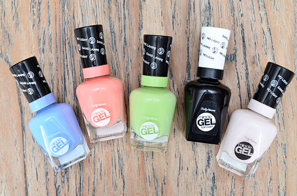 Sally Hansen Miracle Gel Spring '15