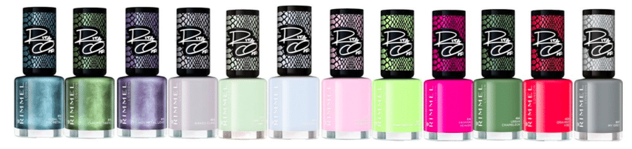 Rimmel 30 Seconds Super Shine Chameleon Colour Collection by Rita Ora