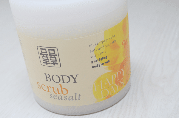 Action Seasalt Body Scrub