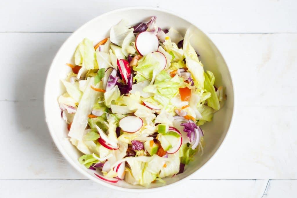 Recept: Shoarmasalade