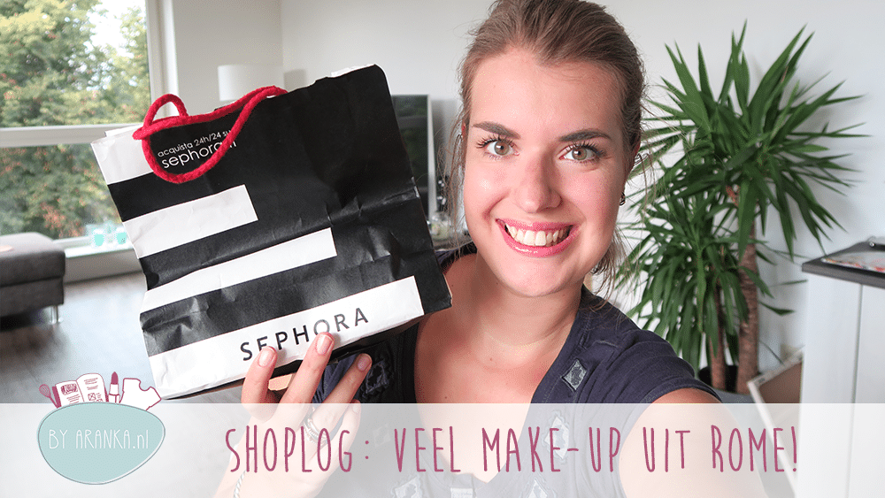 Shoplog: veel make-up uit Rome!