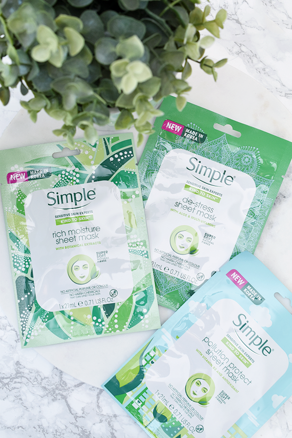 Simple Sheet Masks