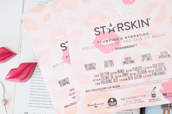 Starskin Plumping & Hydrating Bio-Cellulose Second Skin Lip Masks