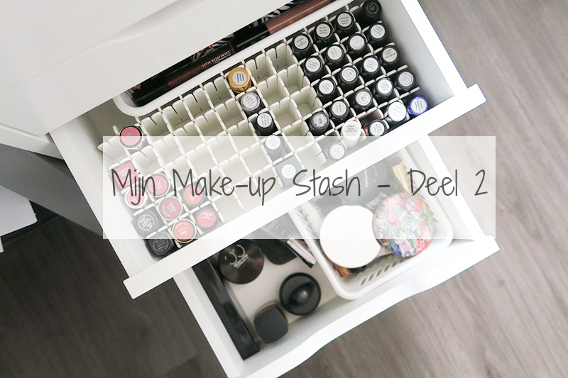 Mijn Make-Up Stash 2016 | Deel 2: Lipstick, Lipgloss, Mascara, Foundation