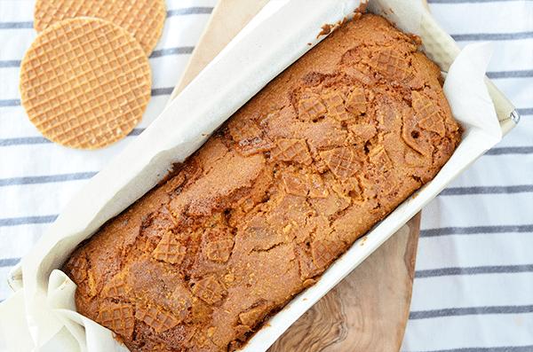 Recept: Stroopwafelcake